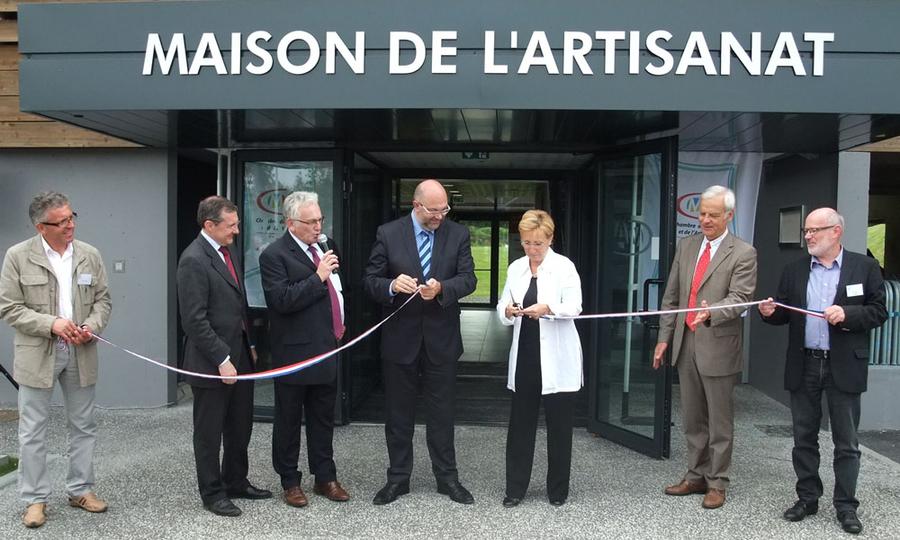 Inauguration de la maison de l 39 artisanat actualit s - Chambre des metiers manche ...
